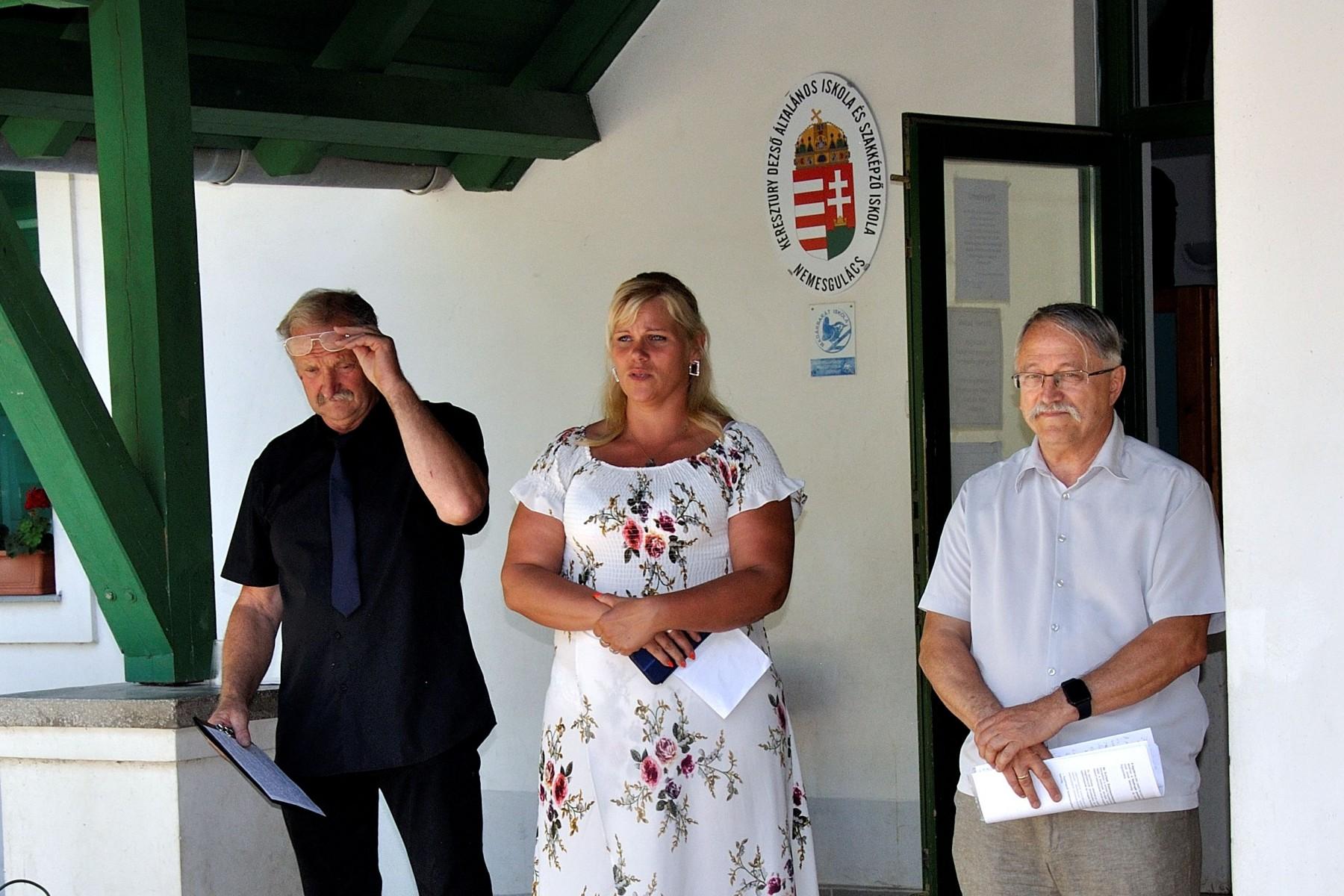 Tompos László, Kiss Ildikó és Lakner Zoltán
